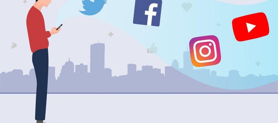 Social Media Facebook Twitter  - Becomepopular / Pixabay
